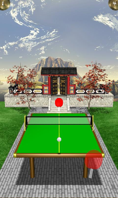 Zen Table Tennis Lite - screenshot