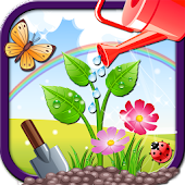 Fairy princess garden - kids