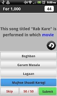 Bollywood Music Trivia - screenshot thumbnail