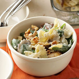 Macaroni with Mushrooms and Blue Cheese