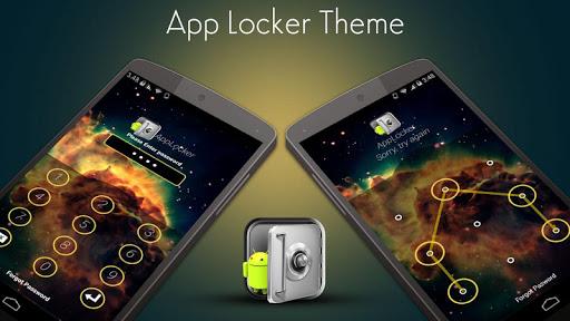 App Locker Theme Galaxy
