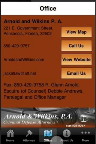 Arnold and Wilkins P. A.- screenshot