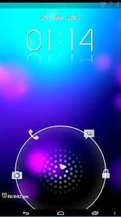 Jelly Bean HD Lockscreen Theme - screenshot thumbnail