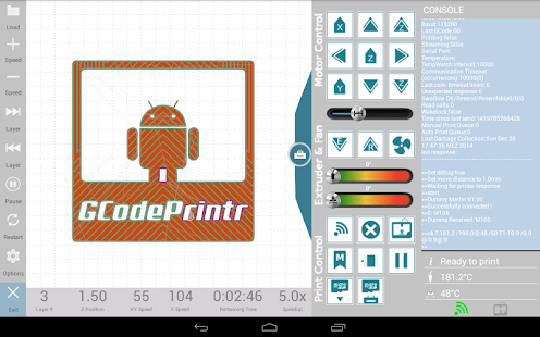 GCodePrintr - The 3D Print App- screenshot thumbnail