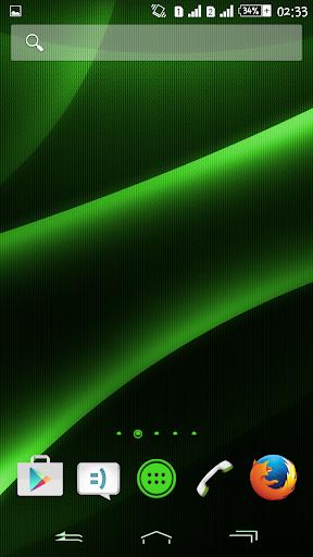 Theme eXPERIAnce Dark Green