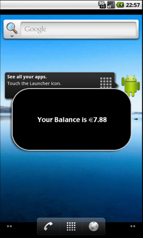 Check Balance - screenshot