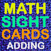 Math Addition Easy Flash Cards