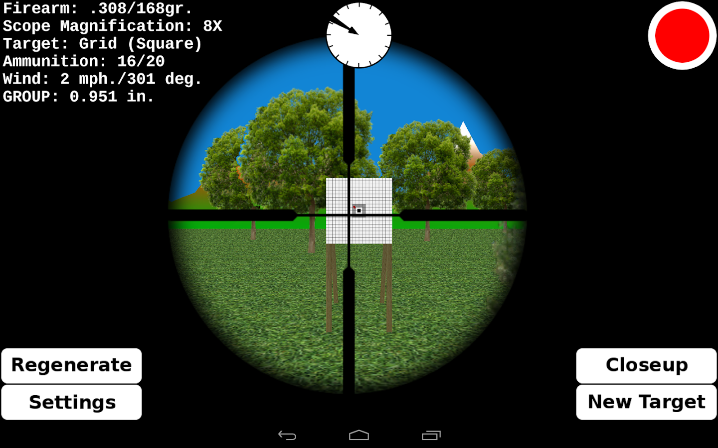 Target Shooting Practice- screenshot