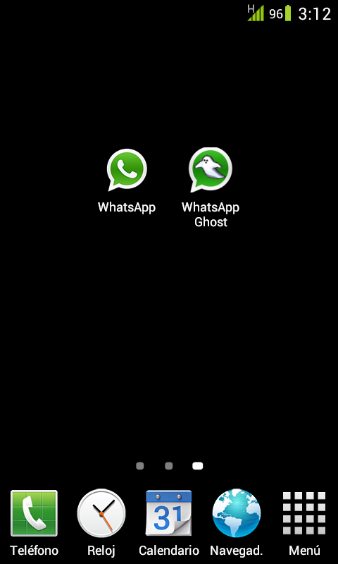 WhatsApp Ghost - screenshot