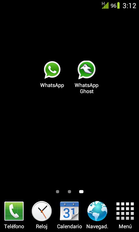 WhatsApp Ghost - screenshot
