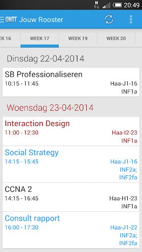 ONTT - Timetables