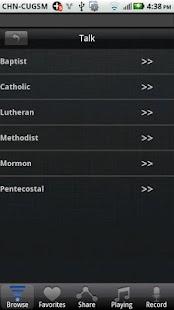 Christian Channels - screenshot thumbnail
