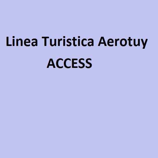 Linea Turistica Aerotuy Access