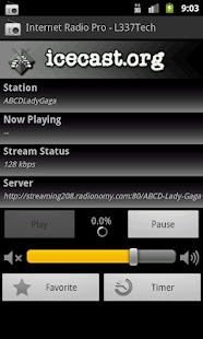Internet Radio Pro - L337Tech - screenshot thumbnail