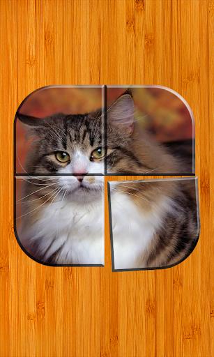 無料猫のパズルゲーム アプリ