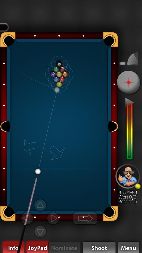 Pool Rebel Lite- screenshot