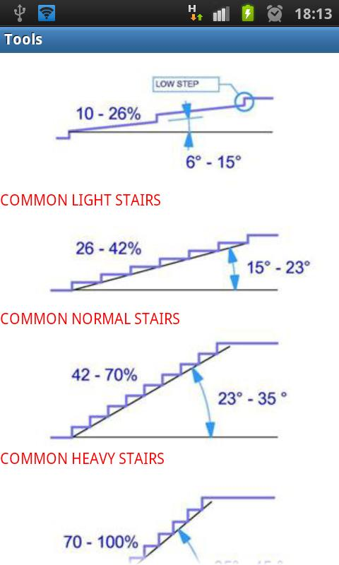 Stairs Tools Free - screenshot