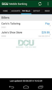 DCU Mobile Banking- screenshot thumbnail