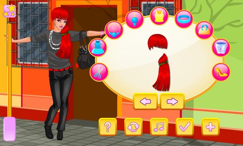 Girl in City Dress Up - screenshot