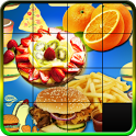 Fast Food Sliding Puzzle Game icon