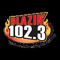 Blazin 102.3 icon