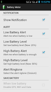 Battery Meter - screenshot thumbnail