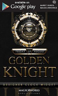 3D golden knight GO Locker - screenshot thumbnail