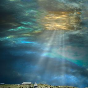 by Deepak Goswami - Landscapes Cloud Formations