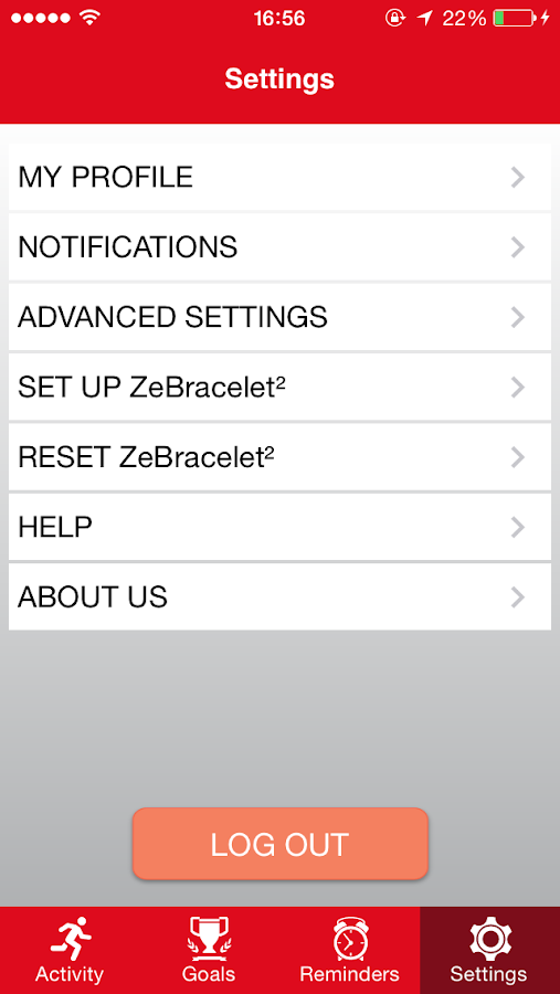 ZeBracelet2- screenshot