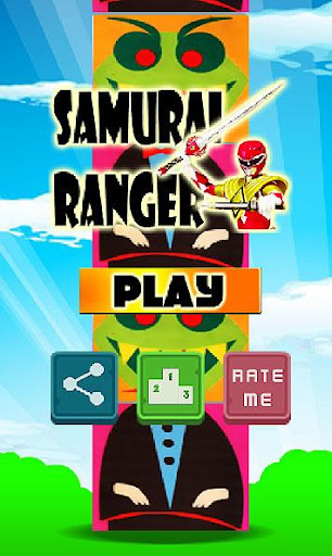 Samurai Red Ranger Game
