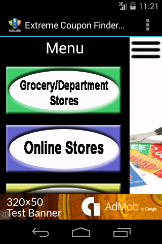 Extreme Coupon Finder - screenshot
