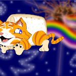 Nyan Cat Destroys the Planet Where Her Annoyances Come From