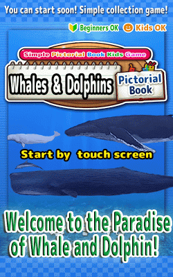 Whales & Dolphins of the World -Simple Kids Game - - screenshot