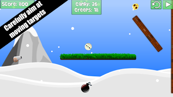 Screenshot of Shoot Monsters & Crazy Creeps