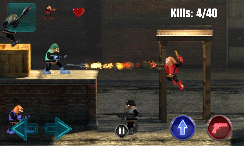 Killer Bean Unleashed- screenshot