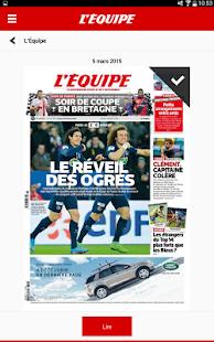 L'Equipe - Le Quotidien– Vignette de la capture d'écran