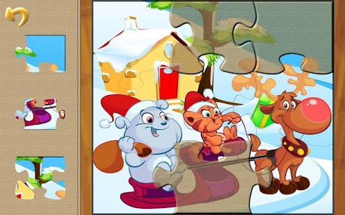 Christmas Puzzle: Santa & Pals- screenshot thumbnail