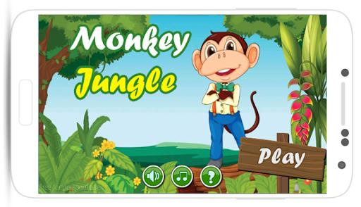 Monkey Jungle Bananas Run 2
