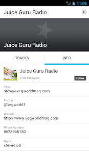 Juice Guru Radio- screenshot thumbnail