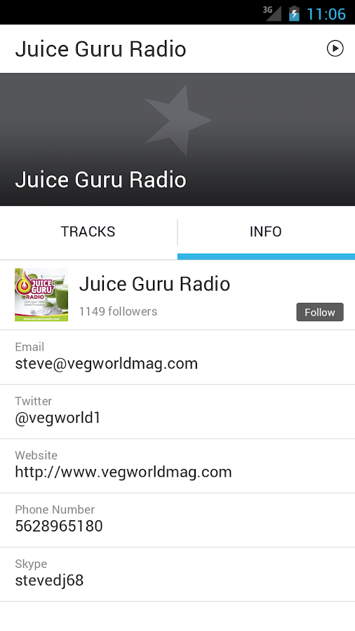 Juice Guru Radio- screenshot