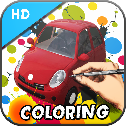 Traffic Coloring Adventure LOGO-APP點子