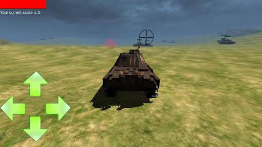 原野坦克戰
