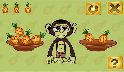 Умная обезьяна- учимся считать