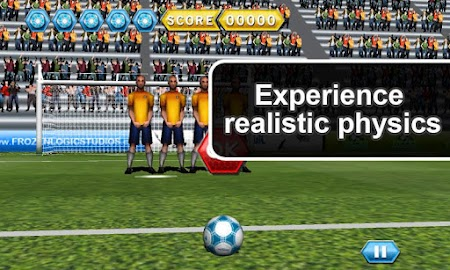 Soccer Free Kicks Screenshot 3