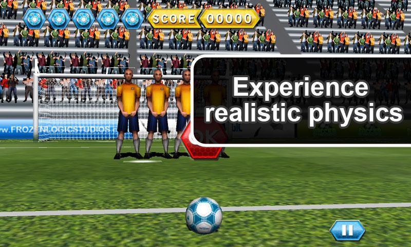 Soccer Free Kicks- screenshot