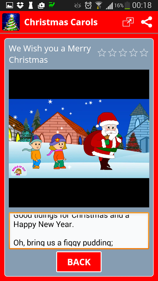Free Christmas Carols- screenshot