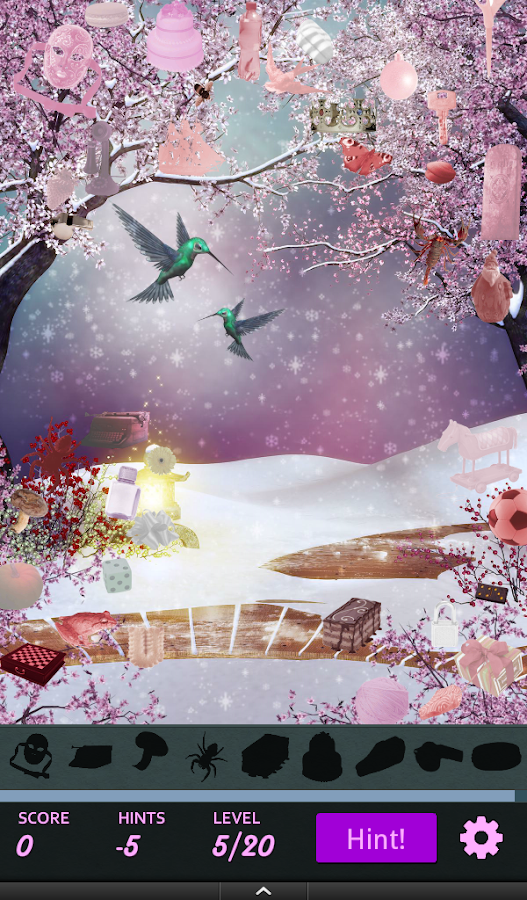 Hidden Object - Winter Spring- screenshot