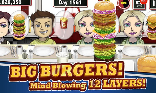 趣味漢堡美食角色扮演遊戲兒童版