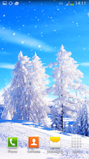 Winter Live Wallpaper- screenshot thumbnail