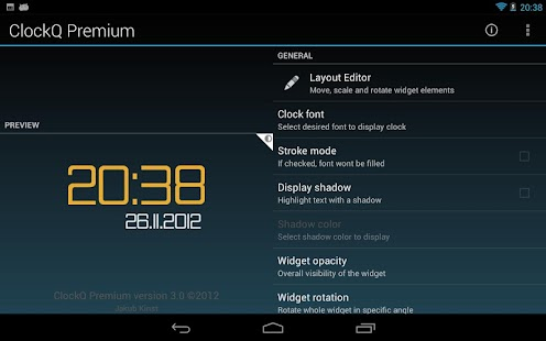 ClockQ Premium - screenshot thumbnail